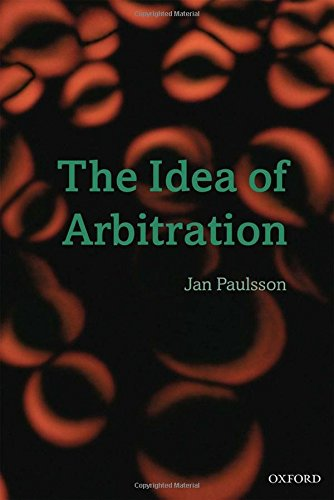 9780199564163: The Idea of Arbitration