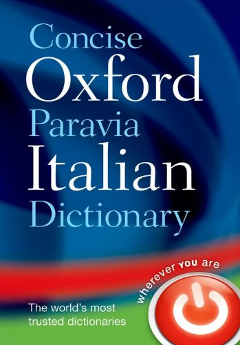 9780199564255: Concise Oxford-Paravia Italian Dictionary
