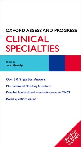 9780199564279: Clinical Specialties (Oxford Assess and Progress)