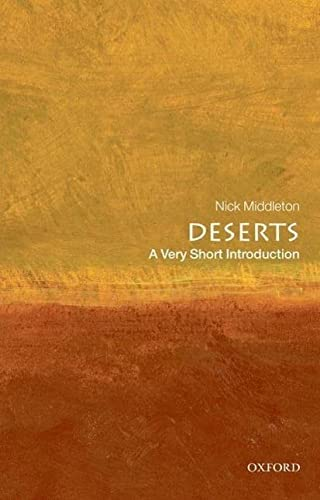 9780199564309: Deserts: A Very Short Introduction (Very Short Introductions)