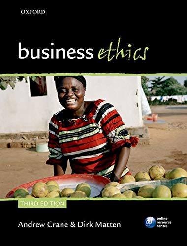 9780199564330: Business Ethics: Managing Corporate Citizenship and Sustainability in the Age of Globalization