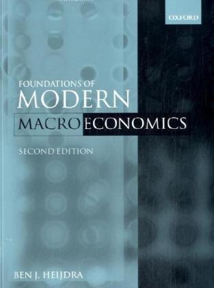9780199564392: Foundations of Modern Macroeconomics Text & Manual Set