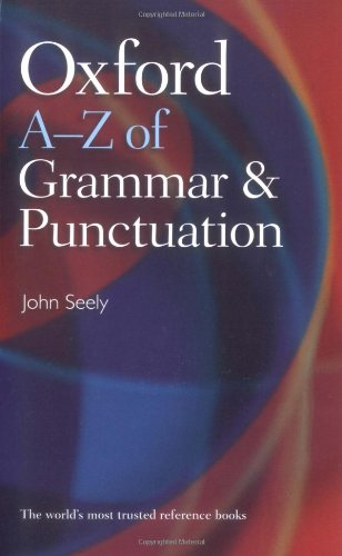 9780199564675: Oxford A-Z of Grammar and Punctuation