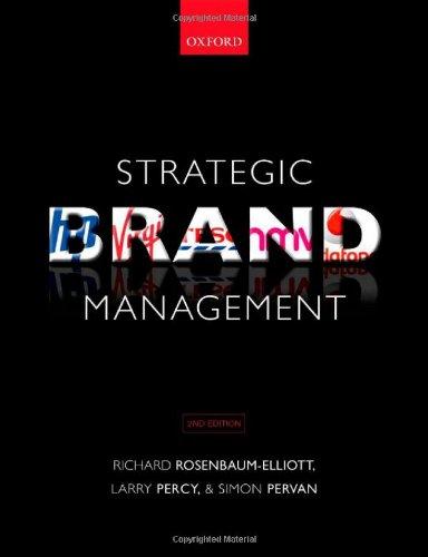 9780199565214: Strategic Brand Management