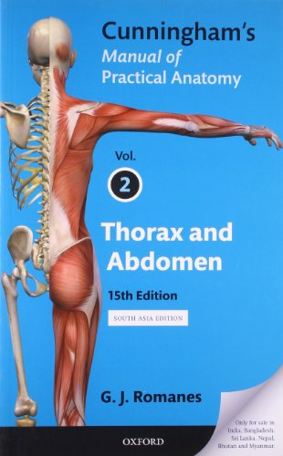 9780199565337: Cunningham's Manual of Practical Anatomy: Volume II: Thorax and Abdomen