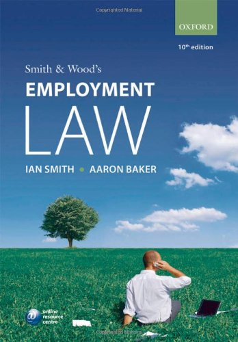 9780199565542: Smith & Wood's Employment Law