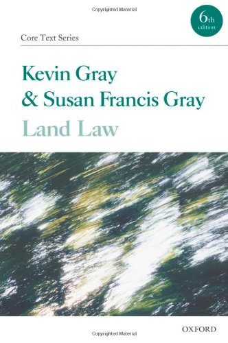 9780199565658: Land Law (Core Texts Series)