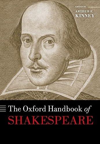 9780199566105: The Oxford Handbook of Shakespeare (Oxford Handbooks)