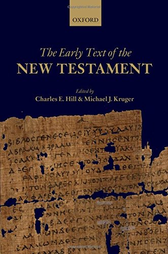 9780199566365: The Early Text of the New Testament