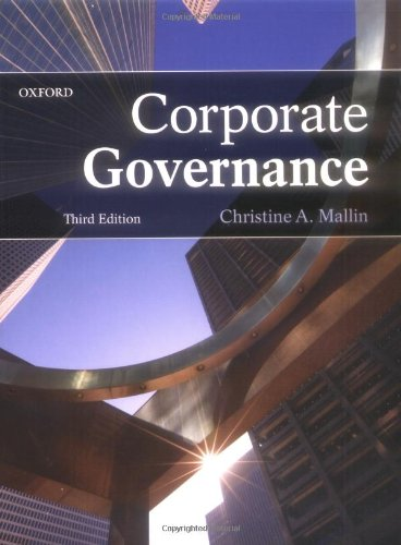 9780199566457: Corporate Governance
