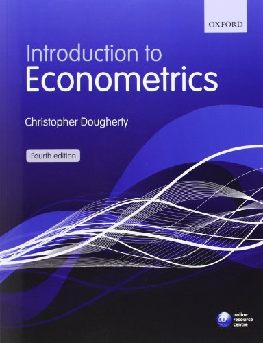 Introduction to Econometrics. 4th Edition: Dougherty, Christopher