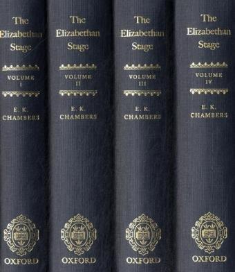 9780199567478: The Elizabethan Stage: 4-volume set
