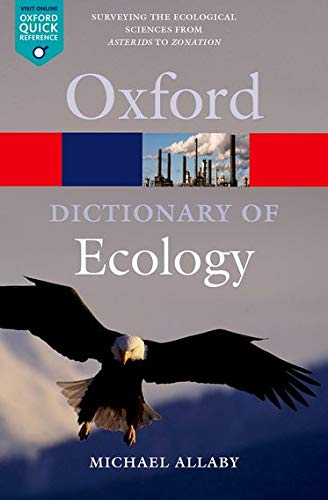 9780199567669: A Dictionary of Ecology (Oxford Quick Reference)