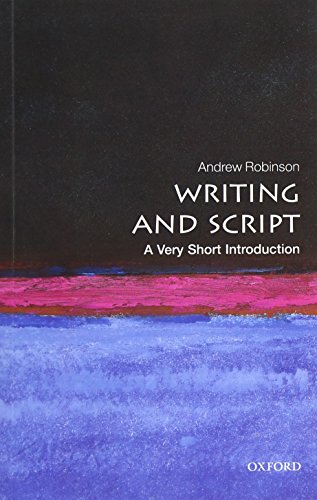 9780199567782: Writing and Script: A Very Short Introduction
