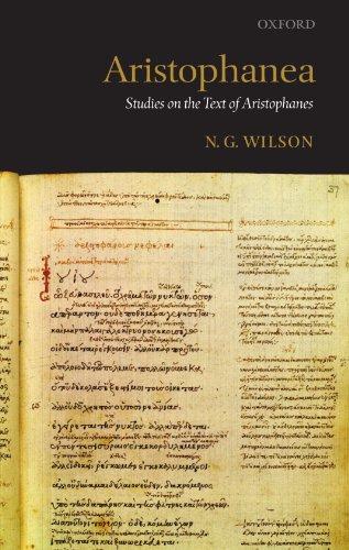 9780199567805: Aristophanea: Studies on the Text of Aristophanes
