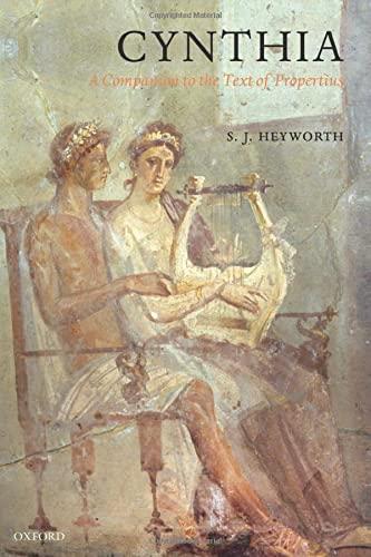 9780199567829: Cynthia: A Companion to the Text of Propertius