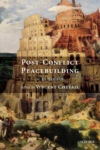 9780199568161: Post-Conflict Peacebuilding: A Lexicon
