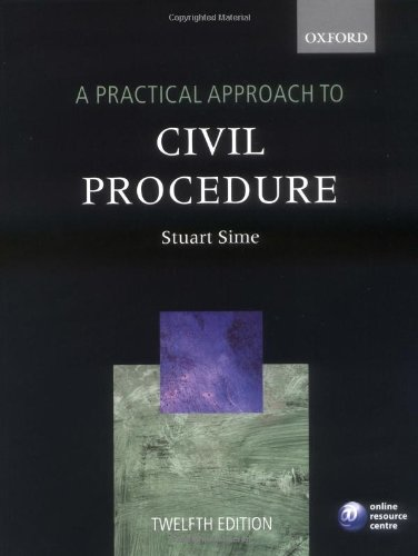 9780199568574: A Practical Approach to Civil Procedure