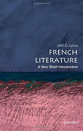 9780199568727: French Literature: A Very Short Introduction