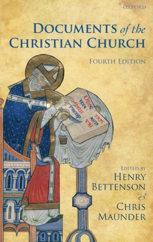 9780199568987: Documents of the Christian Church
