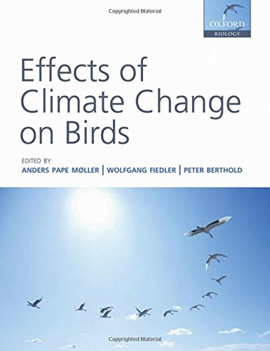 9780199569748: Effects of Climate Change on Birds