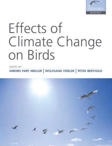 9780199569755: Effects of Climate Change on Birds