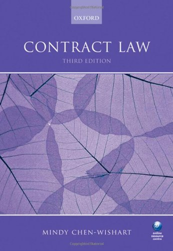 9780199570058: Contract Law