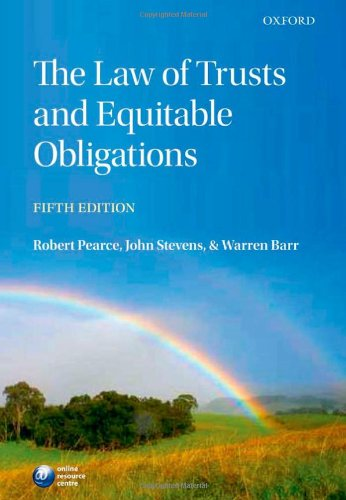 9780199570638: The Law of Trusts and Equitable Obligations