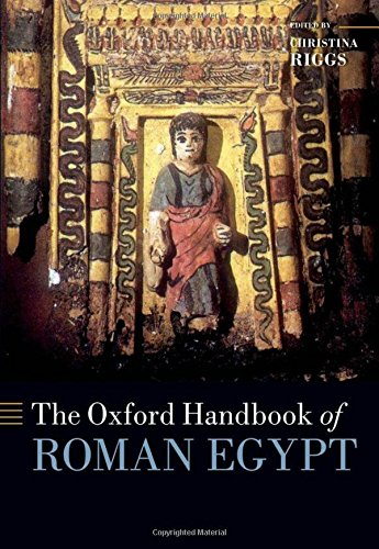 9780199571451: The Oxford Handbook of Roman Egypt (Oxford Handbooks in Archaeology)