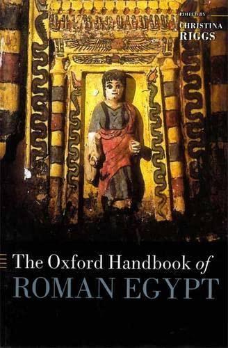 9780199571451: The Oxford Handbook of Roman Egypt (Oxford Handbooks)