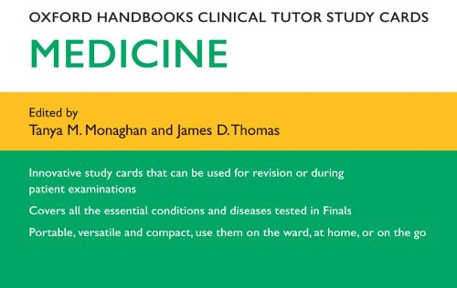 9780199571635: Oxford Handbooks Clinical Tutor Study Cards: Medicine (Oxford Handbooks Study Cards)