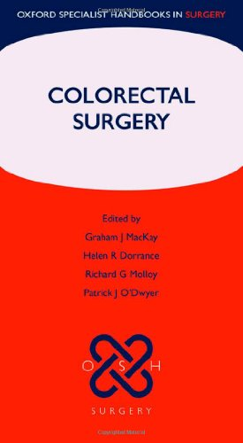 9780199571772: Colorectal Surgery (Oxford Specialist Handbooks in Surgery)