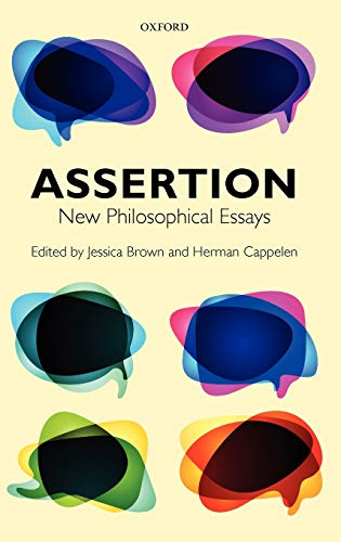 9780199573004: Assertion: New Philosophical Essays