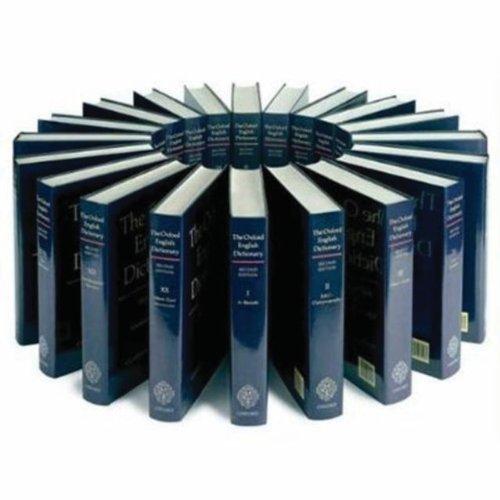 9780199573158: Oxford English Dictionary: 20 vol. print set & CD ROM