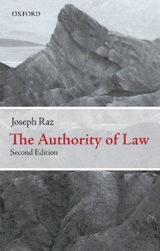 9780199573578: The Authority of Law: Essays on Law and Morality