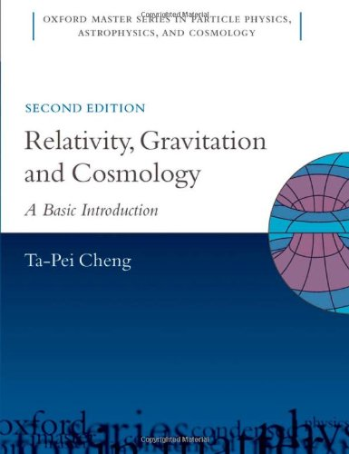 9780199573639: Relativity, Gravitation and Cosmology: A Basic Introduction (Oxford Master Series in Physics)