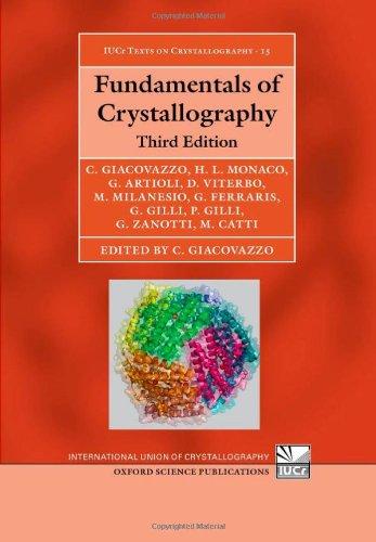 9780199573653: Fundamentals of Crystallography (International Union of Crystallography Texts on Crystallography)
