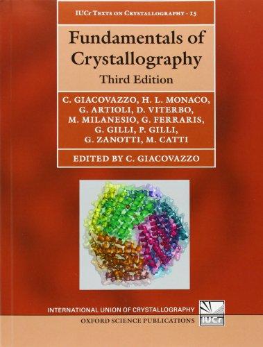 9780199573660: Fundamentals of Crystallography: 15 (International Union of Crystallography Texts on Crystallography)