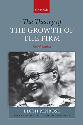 9780199573844: The Theory of the Growth of the Firm