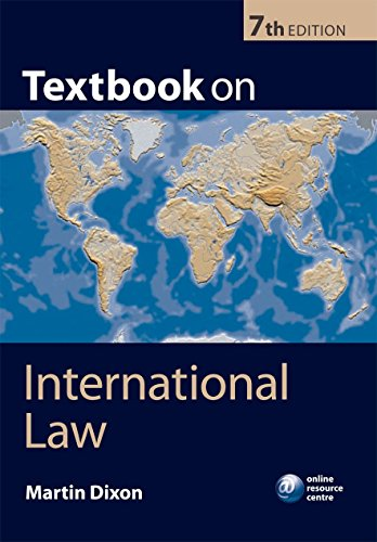 9780199574452: Textbook on International Law