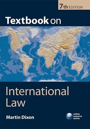 9780199574452: Textbook on International Law
