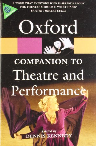 9780199574575: The Oxford Companion to Theatre and Performance (Oxford Paperback Reference)
