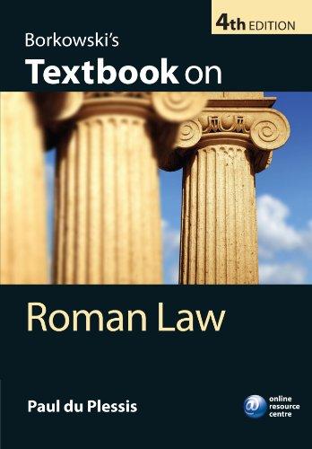 9780199574889: Borkowski's Textbook on Roman Law