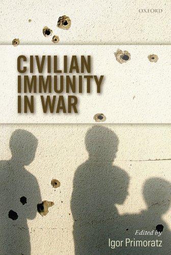 9780199575756: Civilian Immunity in War