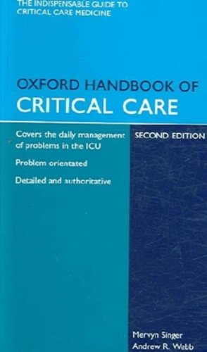 9780199576135: Oxford Handbook of Critical Care and Emergencies in Critical Care Pack