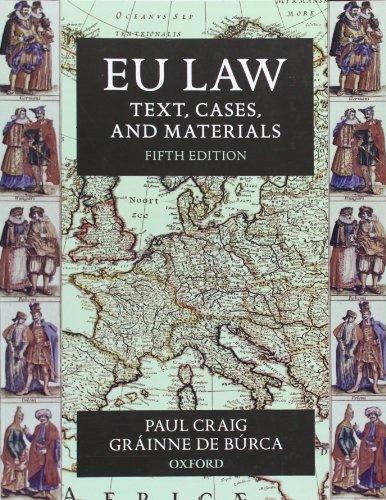 9780199576999: EU Law: Text, Cases, and Materials