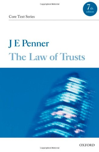 9780199577064: The Law of Trusts (Core Texts Series)