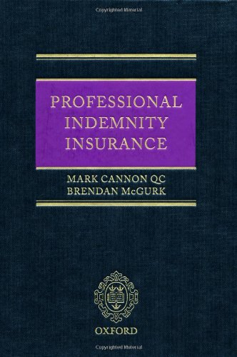 Professional Indemnity Insurance: Cannon QC, Mark;