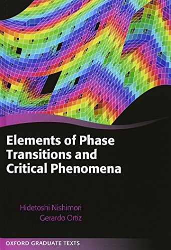 9780199577224: Elements of Phase Transitions and Critical Phenomena (Oxford Graduate Texts)