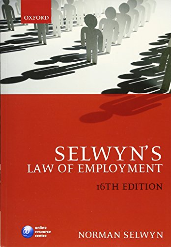 Selwyn's Law of Employment (0199578737) by Norman Selwyn